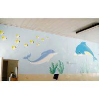 专业手绘幼儿园壁画,提供高质量幼儿园墙体手绘