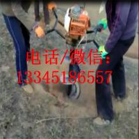 杨树苗挖坑机 小巧方便打孔机 旋转地钻机 花卉移栽机