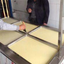 千张豆腐皮加工机 山东邦腾豆腐皮机优质低价