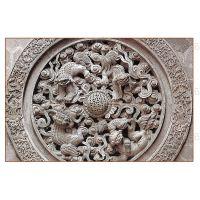 苏州砖雕围墙背景墙照壁订做砌块黏土浮雕多种中式人物泥塑定制