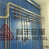 薄壁饮用水管件 双卡压式304不锈钢管 密封不锈钢水管
