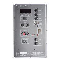12v多功能电瓶移动拉杆蓝牙功放板广场舞音箱HA-039大功率解码板