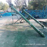榆社县倾斜式圆管提升机 不锈钢上料机 移动式蛟龙输送机