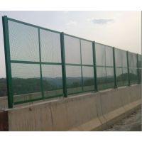 墨绿色桥梁防抛网 浸塑防抛网 热镀锌法兰盘护栏金属丝网