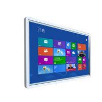 鑫飞智显 32寸 XF-BG32 玻璃壁挂式触摸教学互动一体机会议室广告显示 金属冲压