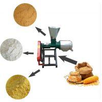 广西小型家用磨面机 多功能玉米抛光制糁机