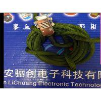 西安骊创矩形连接器矩形连接器J30J-15TJL2-A1-2M 插头插座15芯大量现货