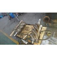螺杆轴转子磨平面磨轴颈加工