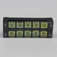 高品质5位45A接线端子TB4505L端子排 固定条形排组合端子