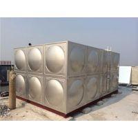 不锈钢水箱焊接式水箱高层供水设备定制加工开封市蓝海专业生产
