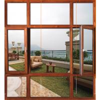 佛山铝木 高端铝合金门窗厂招商加盟 伊美德德式防盗门窗