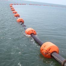 广东200mm疏浚管浮子 污泥管浮体海洋管线浮筒
