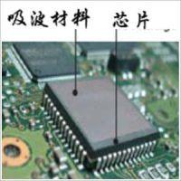 导热吸波材料 高吸波屏蔽材料 应用频率为500MHz~40GHz频段信号屏蔽