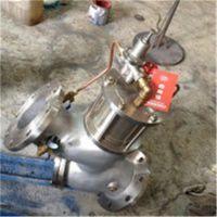 YQ98004-16Q (缓闭消声止回阀)(法兰型)(树脂砂球铁) (QT500-7)
