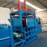 澜海 30-200吨液压打包机 废旧塑料瓶立式压自动翻包立式废料打包机