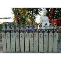 青石仿古拴马桩 人参兽头十二生肖,贵州拴马桩价格