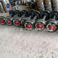 厂家生产煤矿用轨距600 900矿车轮对铸钢矿车轮 矿车轮对可定做