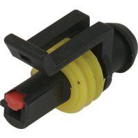 供应汽车连接器护套端子插件DJ7011-1.5-21国产1芯连接器