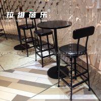 西安甜品店吧桌定制厂家直销
