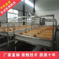 厂家热销小型半自动腐竹机价格 不锈钢多功能半自动腐竹机生产视频