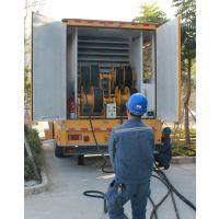 为山丹县各项工程施工提供发电设备发电机出租租赁服务