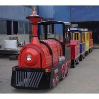 临沂景区公园游乐设备无轨观光小火车电动旅游车代步车
