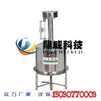 鼎威科技 标准金属量器 不锈钢标准计量罐厂家