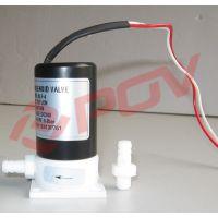 PO6012塑料电磁阀,耐腐蚀PTFE密封