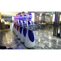广州金灵餐厅无轨服务机器人送餐、迎宾、讲解菜色、传菜