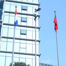 耀恒 靖江不锈钢国旗杆厂家 酒店旗杆 锥形展会旗杆 现货发售