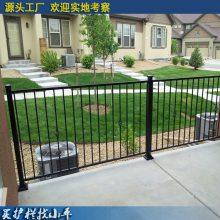 茂名锌钢护栏供应 广州小区铁艺栅栏美观 肇庆景观围墙栏杆现货