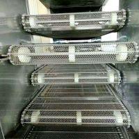 乾德定制不锈钢网带输送机 饼干烘干输送链条式输送机优惠厂家