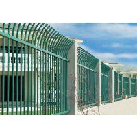 Q235长春锌钢围墙栏杆,长春弯弧围墙栅栏,HC锌钢草坪护栏,仿竹节篱笆围栏