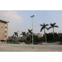 武江区运动场篮球柱 8米高篮球场灯杆厂家 预埋件尺寸