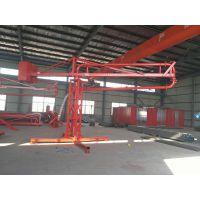 上海混凝土布料机/12米电动布料杆/回转支承/三一泵管