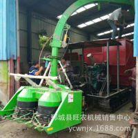 精品推荐 履带式芦苇收割粉碎机 玉米秸秆回收机