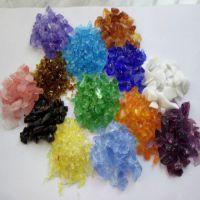 兴胜矿业供应优质喷砂除锈玻璃砂 型号齐全彩色玻璃碎石质量保证特价玻璃珠