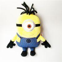 布艺填充毛绒玩具小黄人动漫公仔可来图打样设计定制厂家