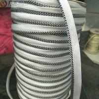 厂家直销子母带服装家纺辅料金银丝涤纶滚边绳包边镶边滚边子母带