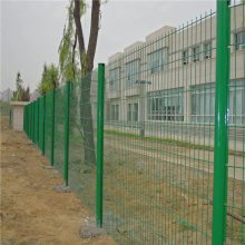 绿色隔离铁丝网厂家 生态园防护围网 别墅相邻庭院隔离网