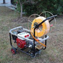 自走式喷药机 启航高杆自动折叠打药机 果园杀虫机哪里有卖