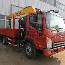 唐骏3200小型货车吊,货箱3.4米的唐骏欧铃随车吊