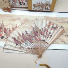 陕西特色纪念品 西安丝绸礼品 《红色印记》迹邮票丝织商务会议文化工艺礼品