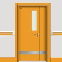 河北邢台医院专用门 怡立特学校专用门 莱芜防夹手幼儿园用门 实木复合门