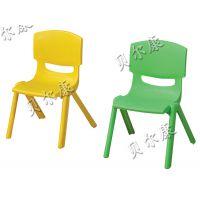 荐 厂家批发幼儿园环保加厚儿童塑料椅子 背靠椅 幼儿园课桌椅