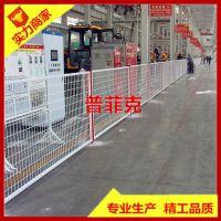 山东车间护栏网 折弯护栏网@黄色警示隔离网