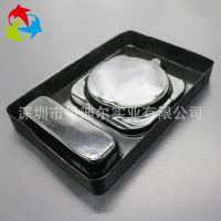 实地厂家现货供应环保数码吸塑包装 定制黑色PET无线充电器包装盒