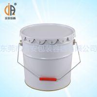 马口铁10L花兰桶 10kg铁罐桶包装金属桶 厂家直销
