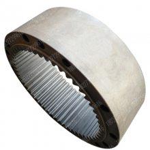 玉柴YC230-8挖掘机旋转牙箱内齿圈配件18027299616 玉柴230回转内齿圈
