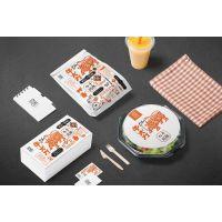海口广告公司——餐饮品牌VI设计制作安装